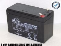 3x Leoch XTREME XR-9.0FR - Electric Bike Batteries
